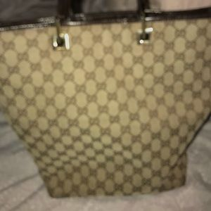 Gucci handbag authentic with serial number.